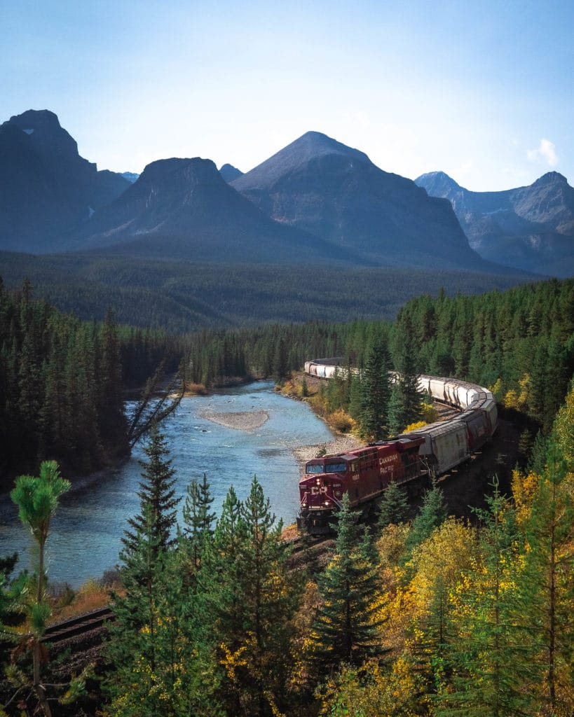 courbe-Morant-curve-banff-parc-national-alberta-canada-rocheuses